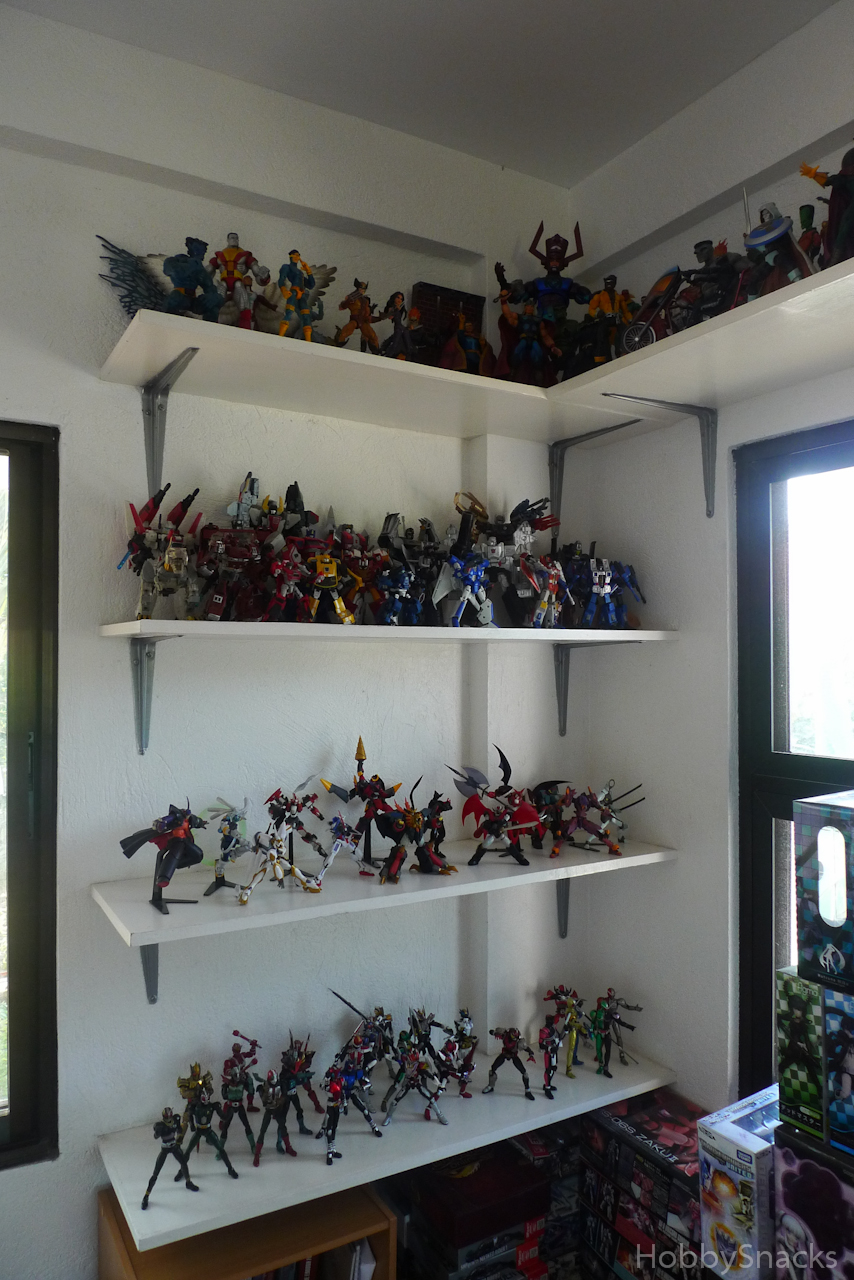 Part 1: My Desk And Shelves